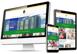 Royal Heights Website Design