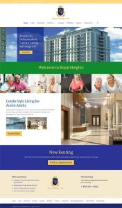 Web Design Royal Heights Home