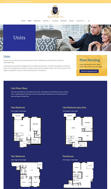 web-design-royal-heights-units