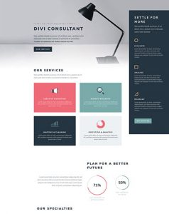 Consultant Layout Pack