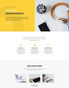 Design Agency Layout Pack