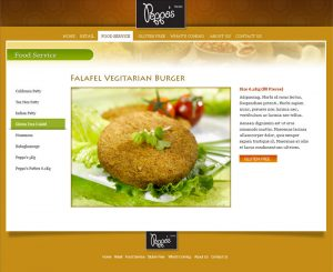 Peppos Foods Home Page