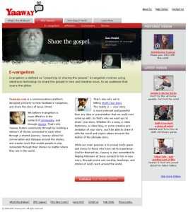 Web Design - Yaaway About page