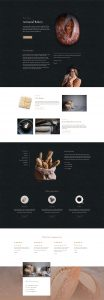 Bakery Layout Pack - Landing Page