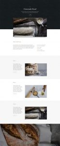 Bakery Layout Pack - Recipe Page