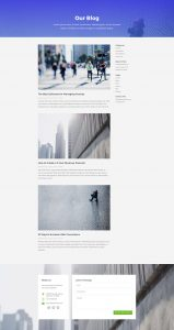Business Layout Pack - Blog Page