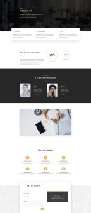 Business Consultant Layout Pack - About Page