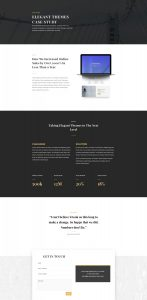 Business Consultant Layout Pack - Case Study Page
