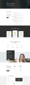 Business Consultant Layout Pack - Services Page