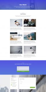 Business Layout Pack - Portfolio Page