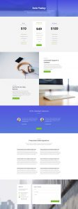 Business Layout Pack - Pricing Page