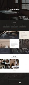 Carpenter Layout Pack - Landing Page