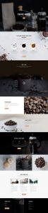 Coffee Shop Layout Pack - Landing Page