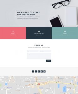 Consultant Layout Pack - Contact Page