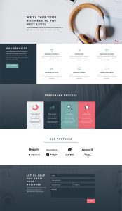 Consultant Layout Pack - Services Page