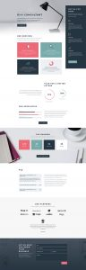 Consultant Layout Pack - Landing Page