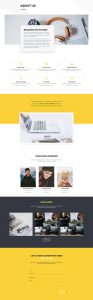 Design Agency Layout Pack - About Page