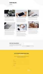 Design Agency Layout Pack - Blog Page
