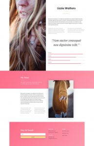 Fashion Layout Pack - Designer Page