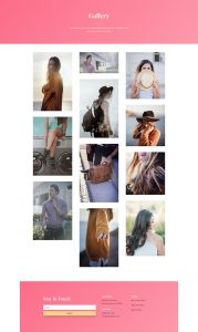 Fashion Layout Pack - Gallery Page