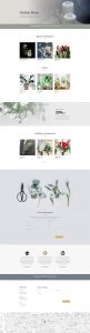 Florist Layout Pack - Shop Page