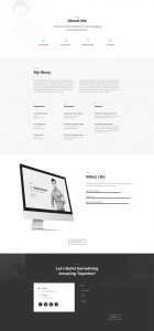 Freelance Web Layout Pack - About Page