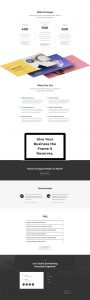 Freelance Web Layout Pack - Pricing Page