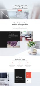 Interior Design Layout Pack - About Page