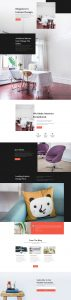 Interior Design Layout Pack - Landing Page