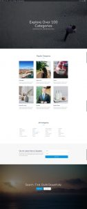 Photo Marketplace Layout Pack - Categories Page