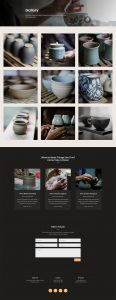 Pottery Studio Layout Pack - Gallery Page