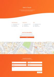 Product Marketing Layout Pack - Contact Page
