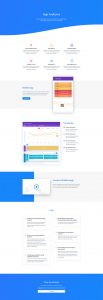 Product Marketing Layout Pack - Features Page