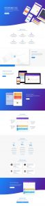 Product Marketing Layout Pack - Landing Page
