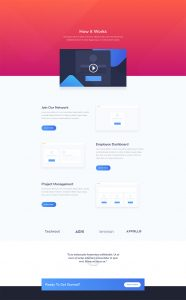 SaaS Layout Pack - About Page