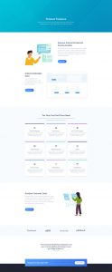 SaaS Layout Pack - Features Page