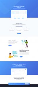 SaaS Layout Pack - Landing Page