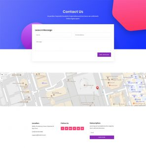 SEO Layout Pack - Contact Page