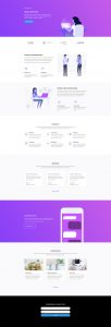 Software Marketing Layout Pack - Landing Page