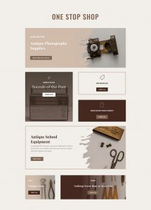 Online Store Layout Pack - Categories Page