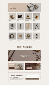 Online Store Layout Pack - Shop Page