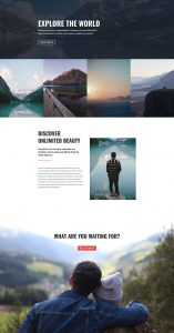 Travel Layout Pack - Home Page
