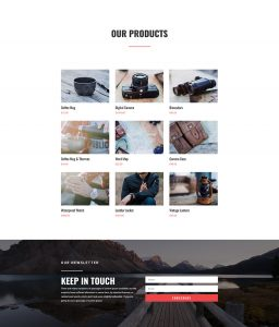 Travel Layout Pack - Shop Page