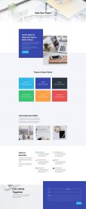 Web Agency Layout Pack - Careers Page