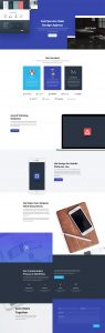 Web Agency Layout Pack - Landing Page
