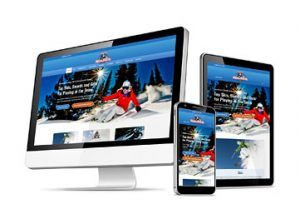 Web Design Station Ski and Ride Winter