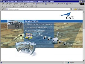 Web Design CAE Home 2