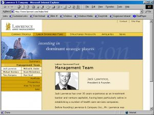 Web Design Lawrenee Management Team