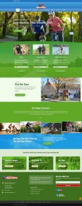 Web Design Station Ski and Ride Summer Home