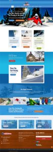 Web Design Station Ski and Ride Winter Home